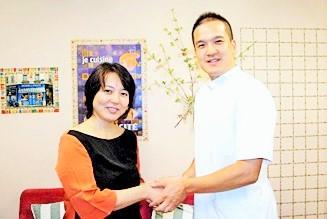 杉田かおるさんと院長