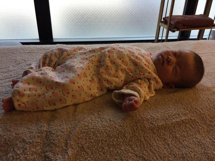 生後三か月の娘