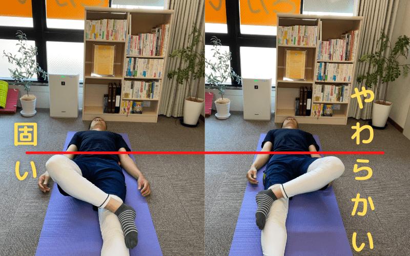 股関節の柔軟性 左右差